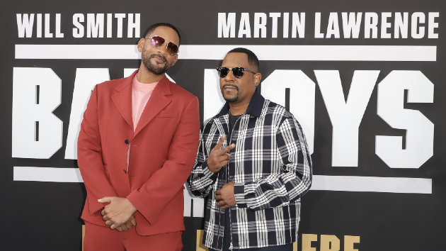 Will Smith and Martin Lawrence celebrate the 26th anniversary of 'Bad Boys' - Music News